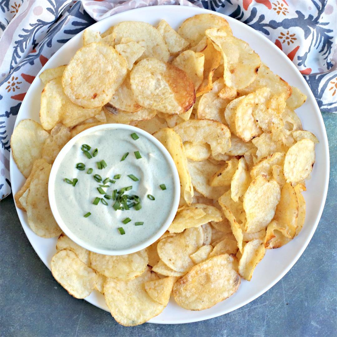 Vegan Sour Cream Dip