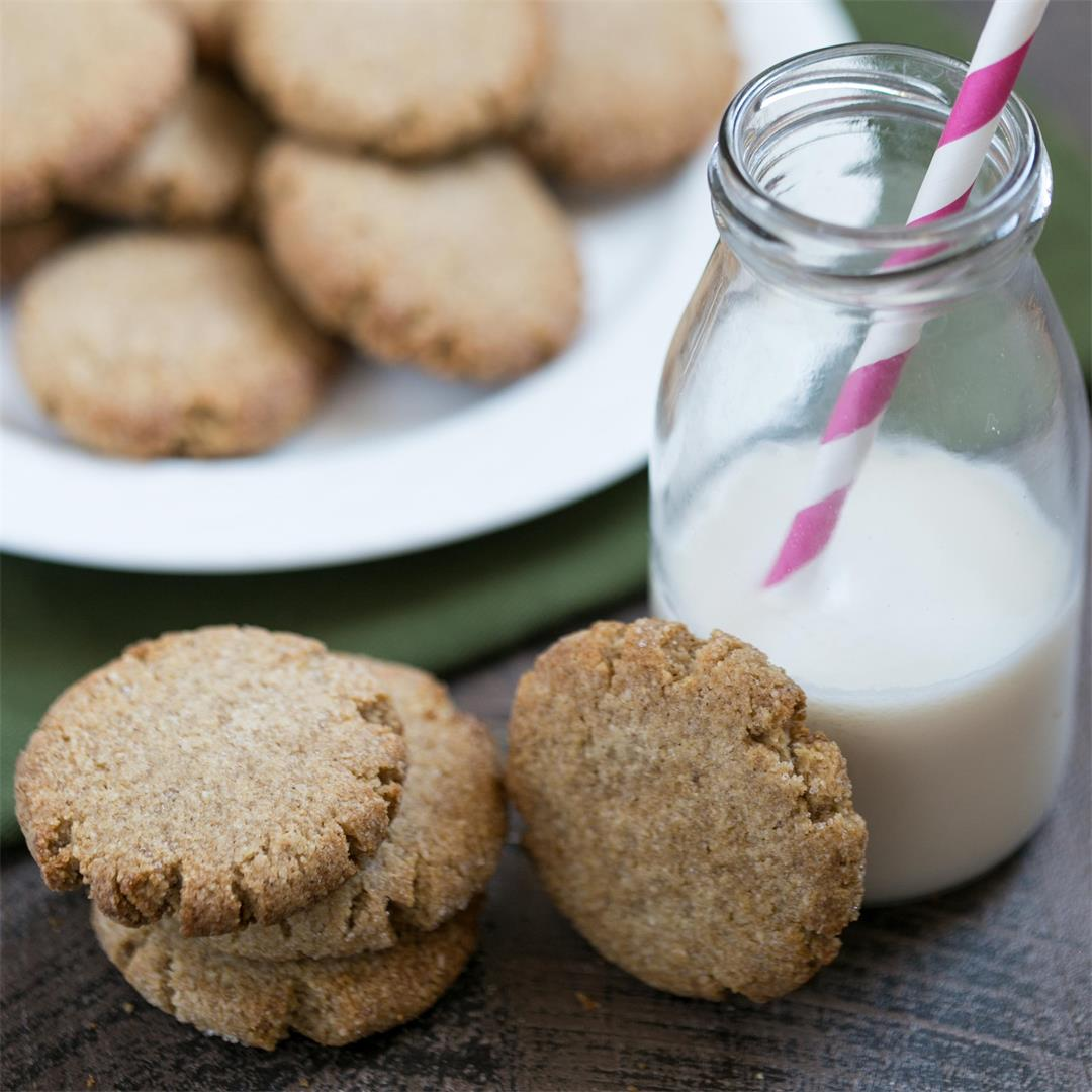 Soft Ginger Cookies (Gluten Free)