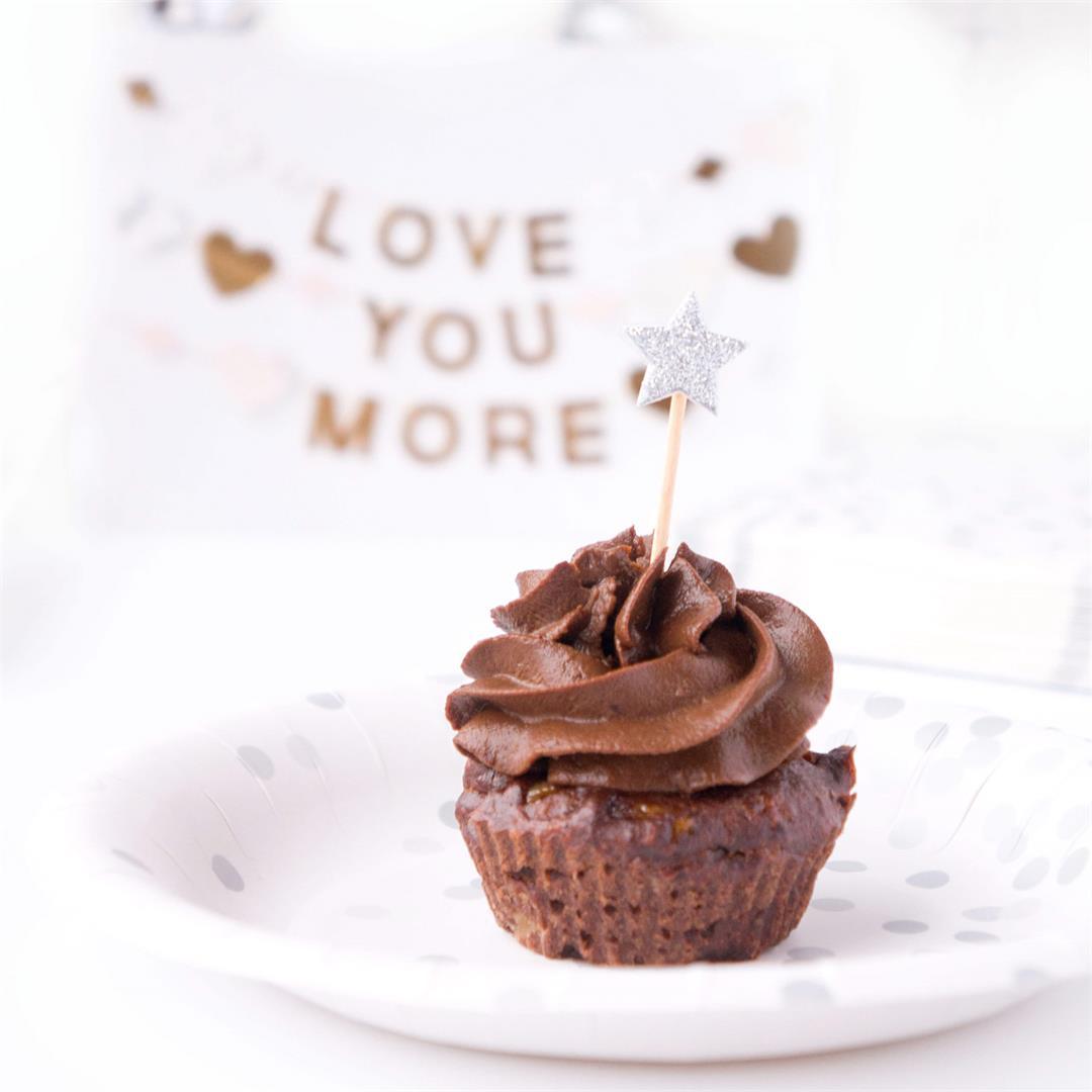 No Sugar Added Chocolate Cupcakes