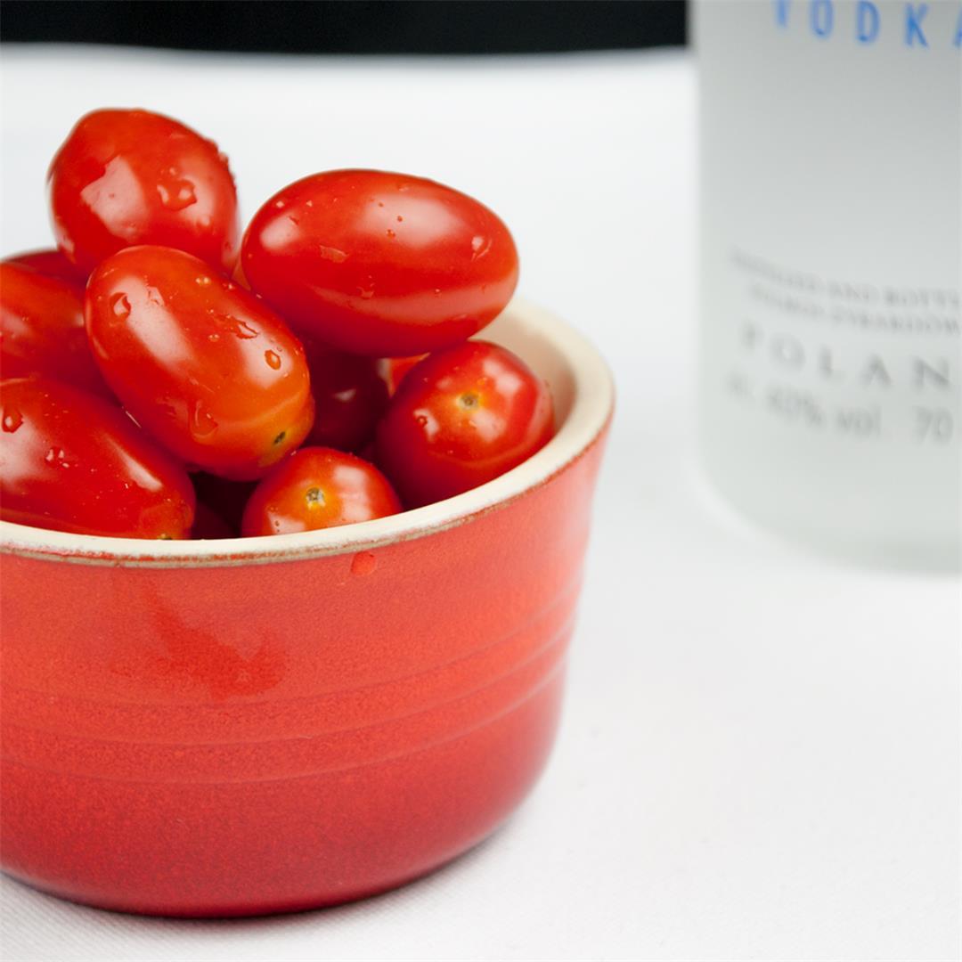 Drunken Tomatoes