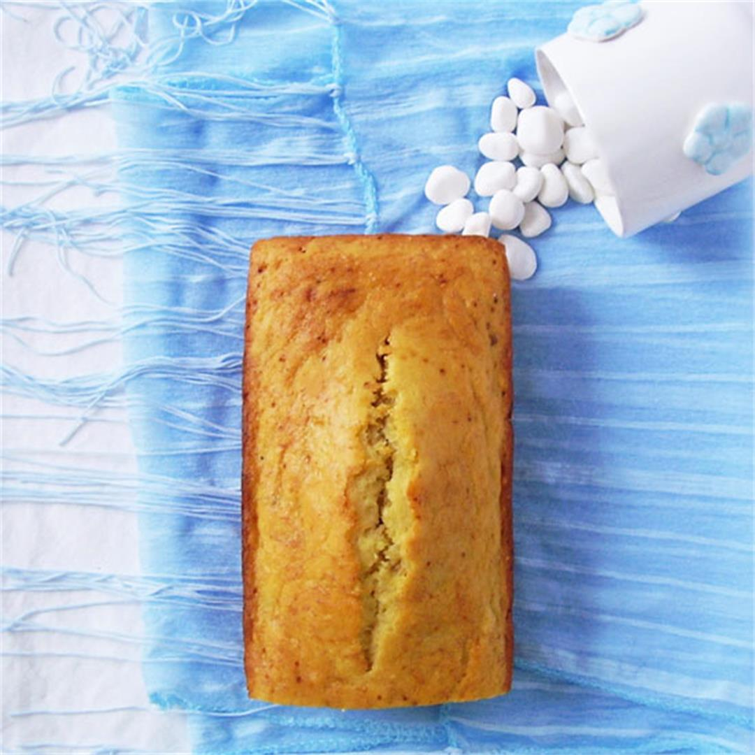 Banana Ice Cream Bread