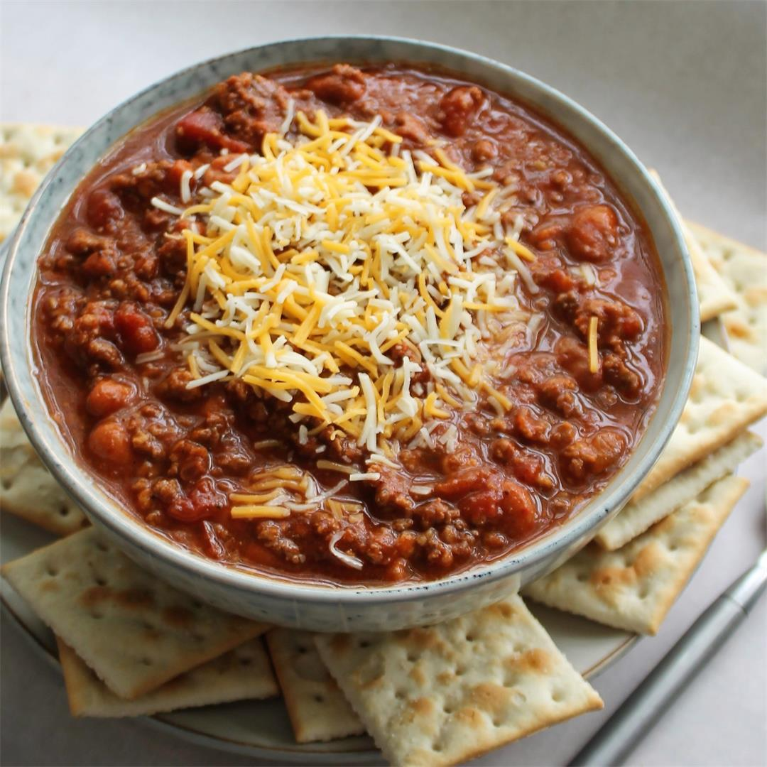 The Best Bowl of Red (aka: Awesome Chili)
