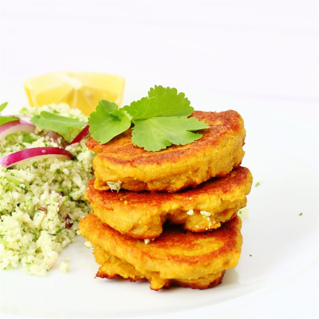 Spicy Chickpea Patties