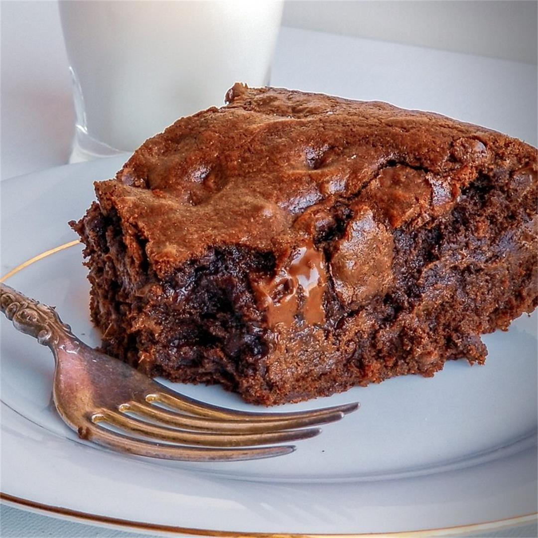 Loaded Chocolate Chip Brownies