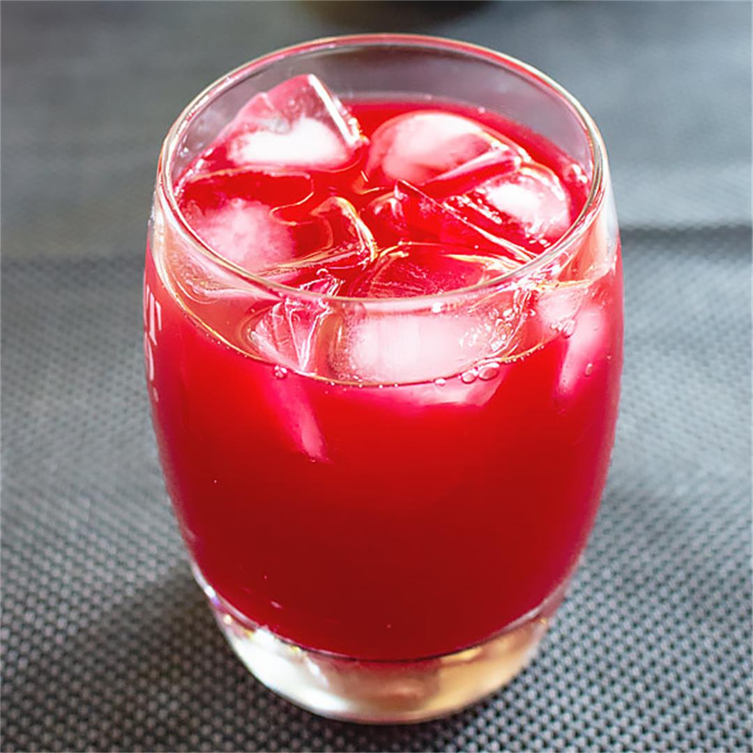Beet carrot and apple juice is an all time favorite