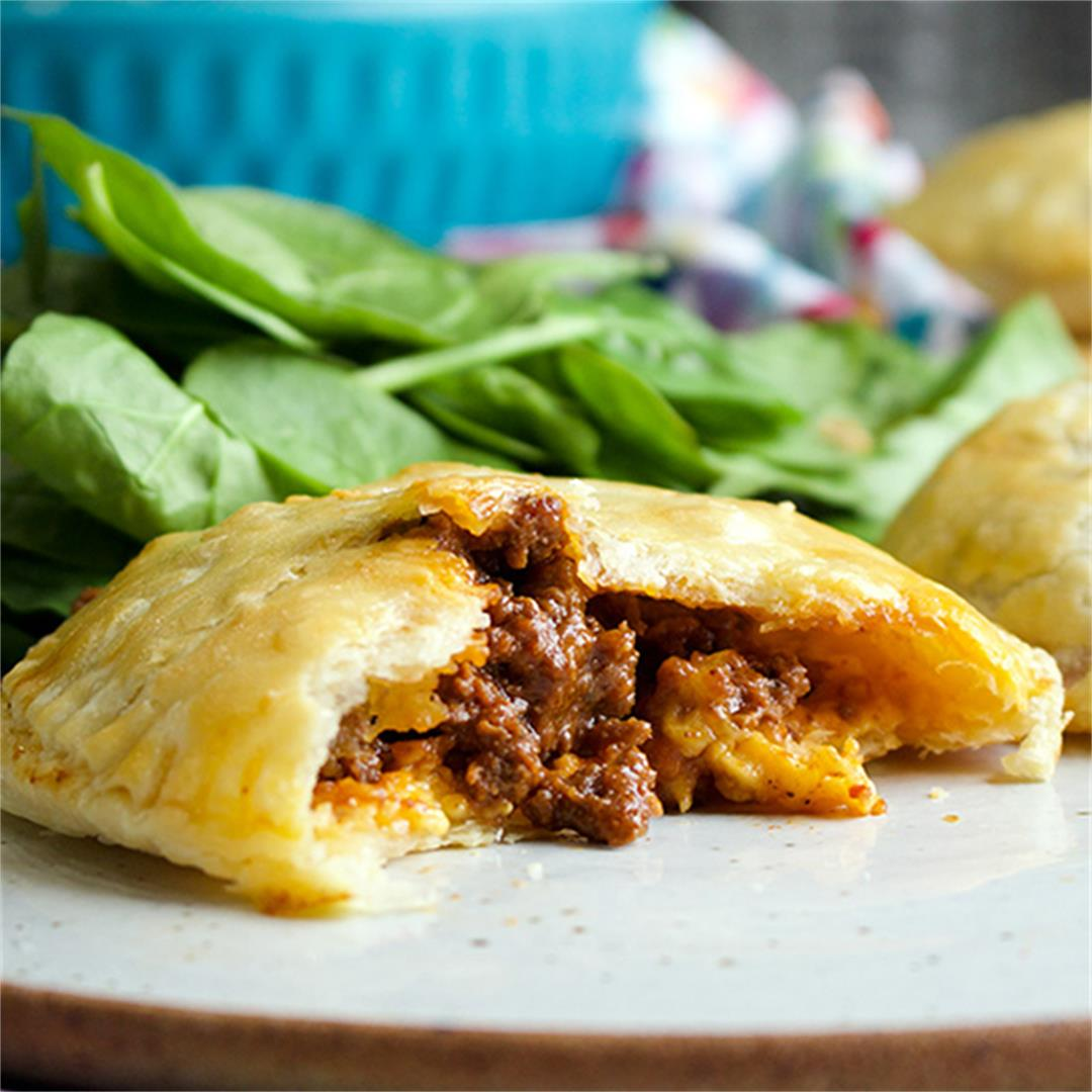 Cheesy Sloppy Joe Hand Pies