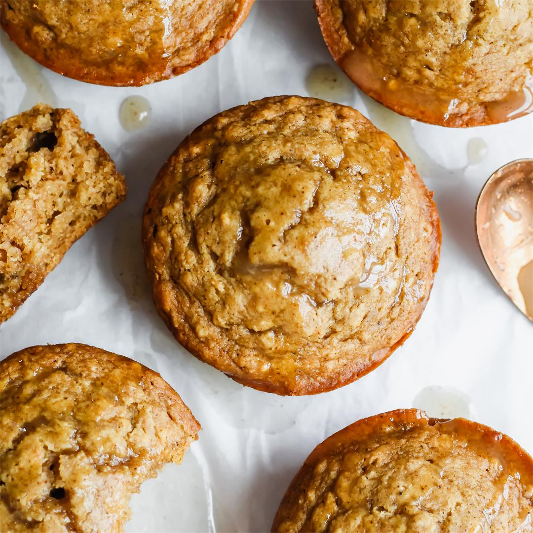 Vegan Orange Spice Muffins
