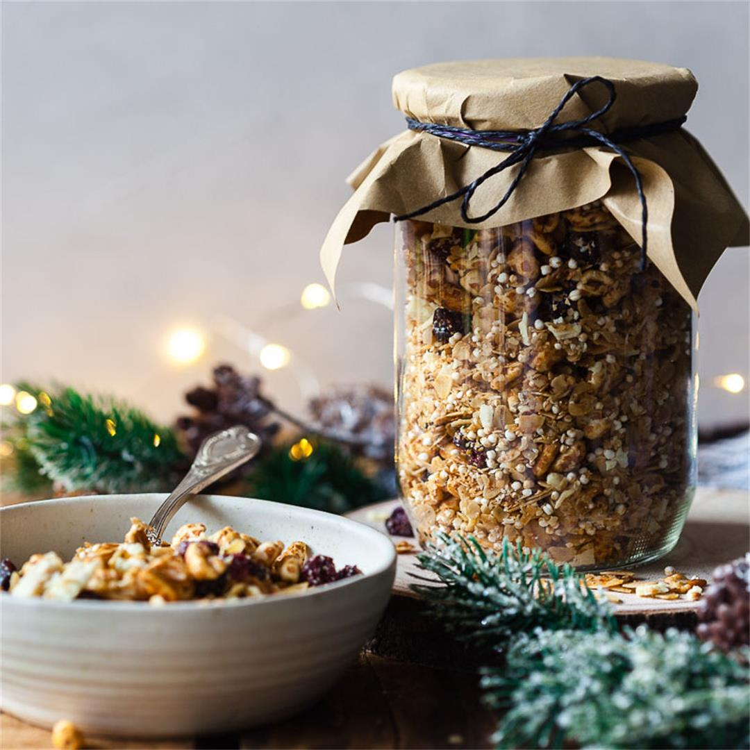 Honey Roasted Cranberry Granola