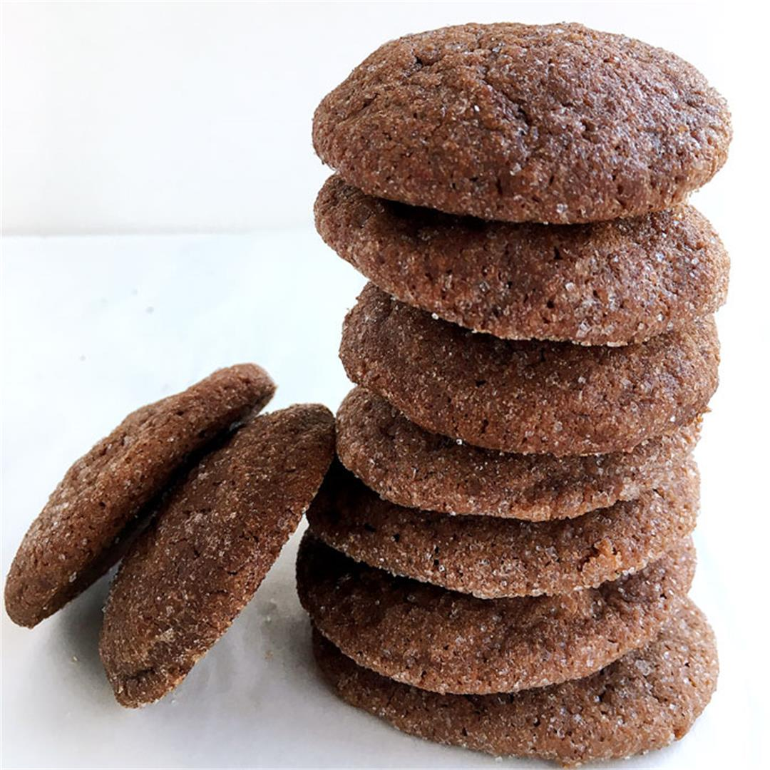 Chocolate cinnamon cookies = easy + delish.