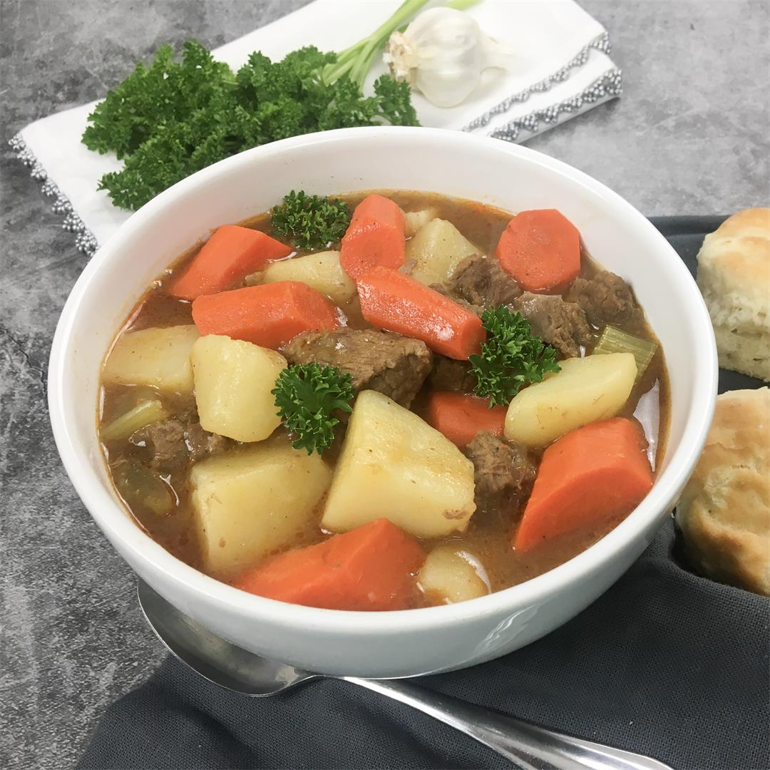 Paula Deen's Old-Time Beef Stew