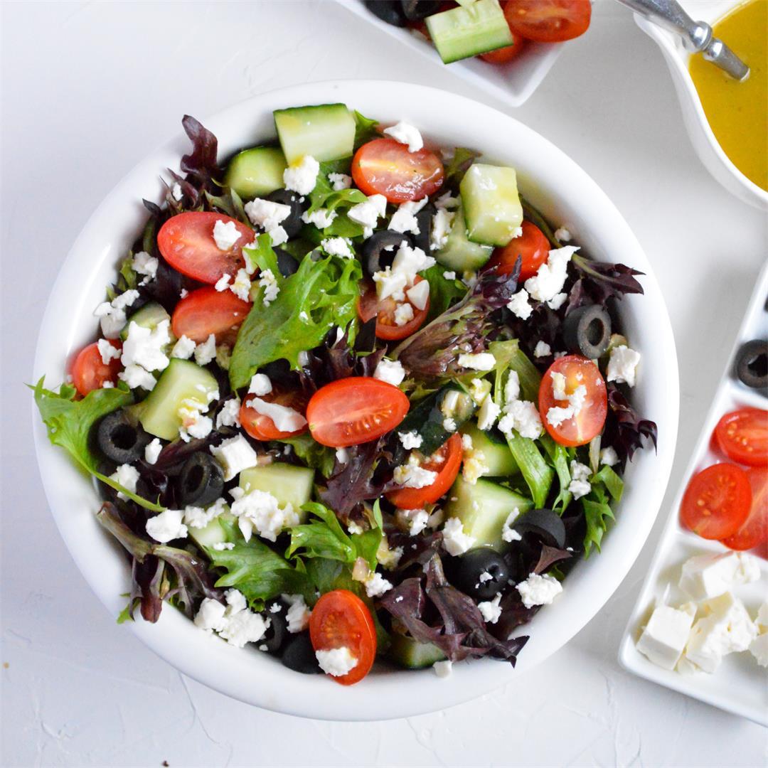 Spring Mix Salad Recipe