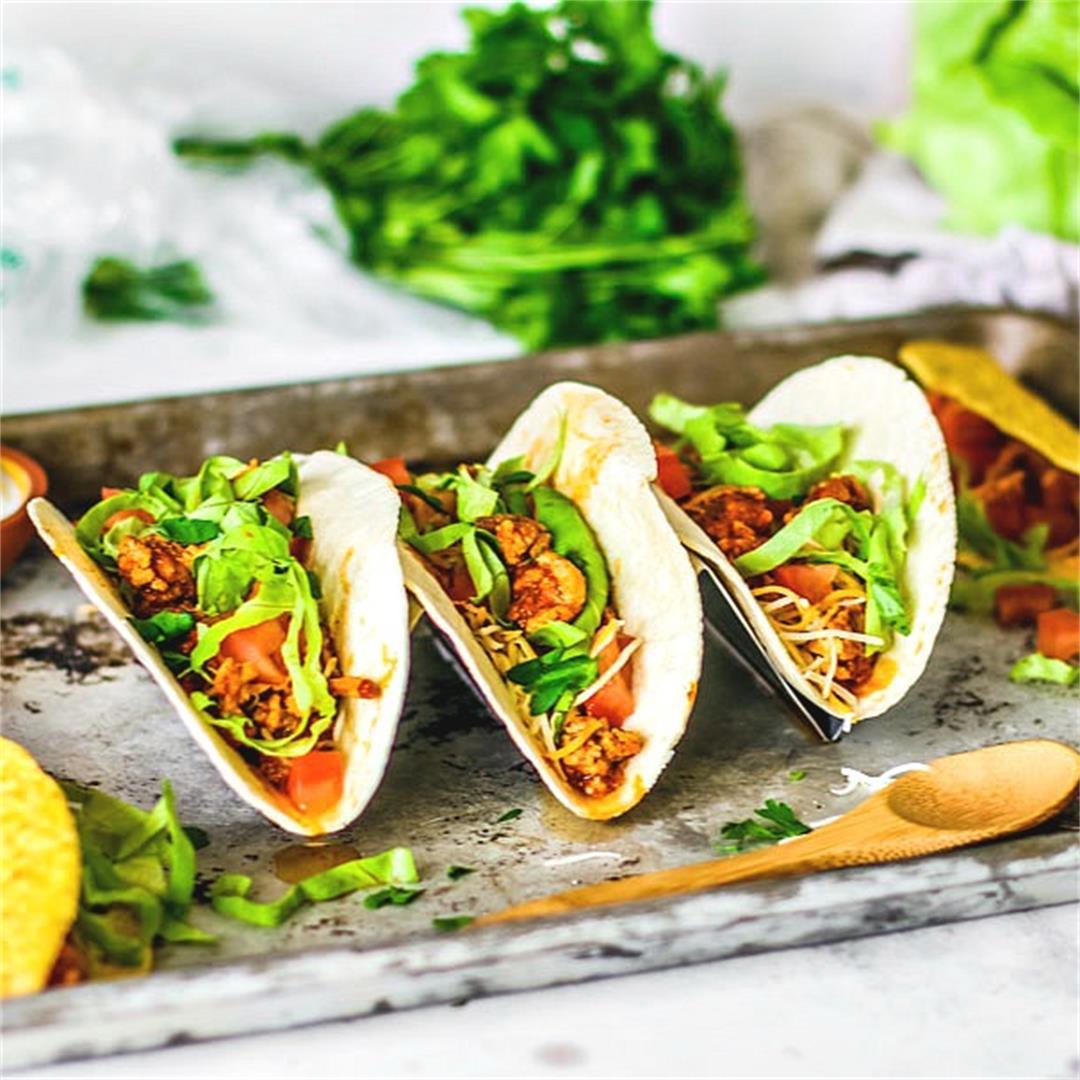Instant Pot Ground Turkey Tacos