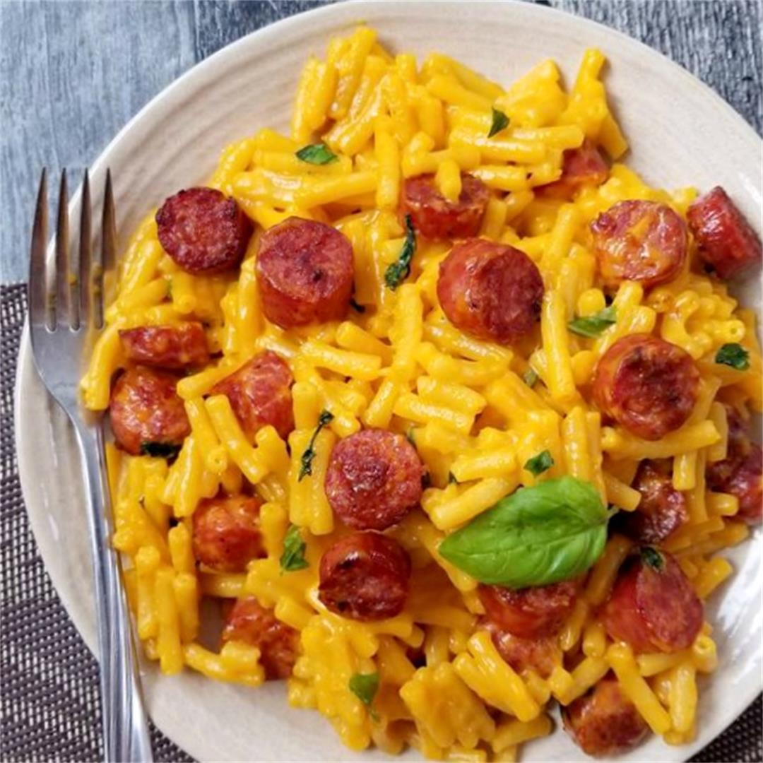 Farmers Sausage Mac and Cheese