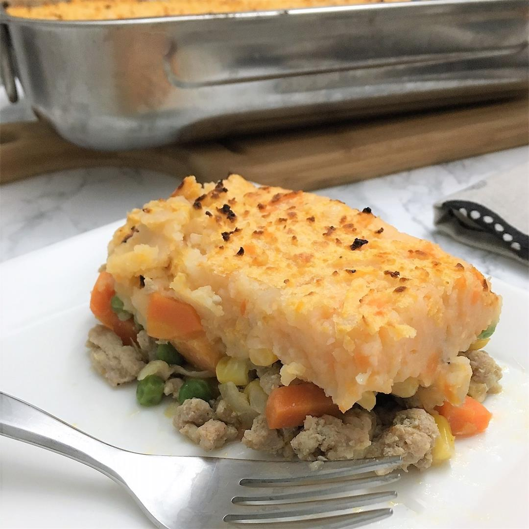 Healthy Chicken Shepherd's Pie – Dairy Free
