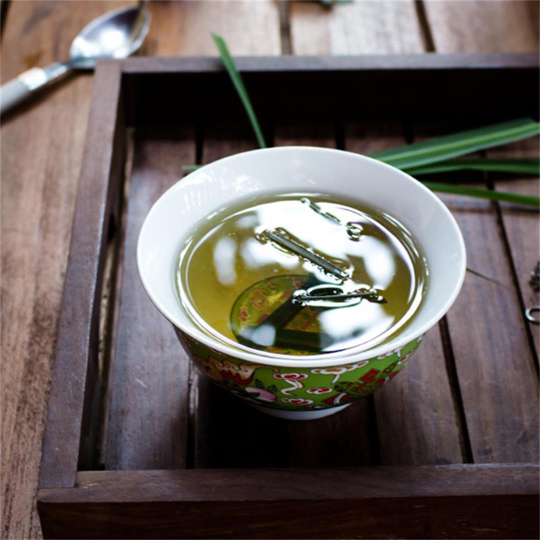 Great tasting lemongrass tea