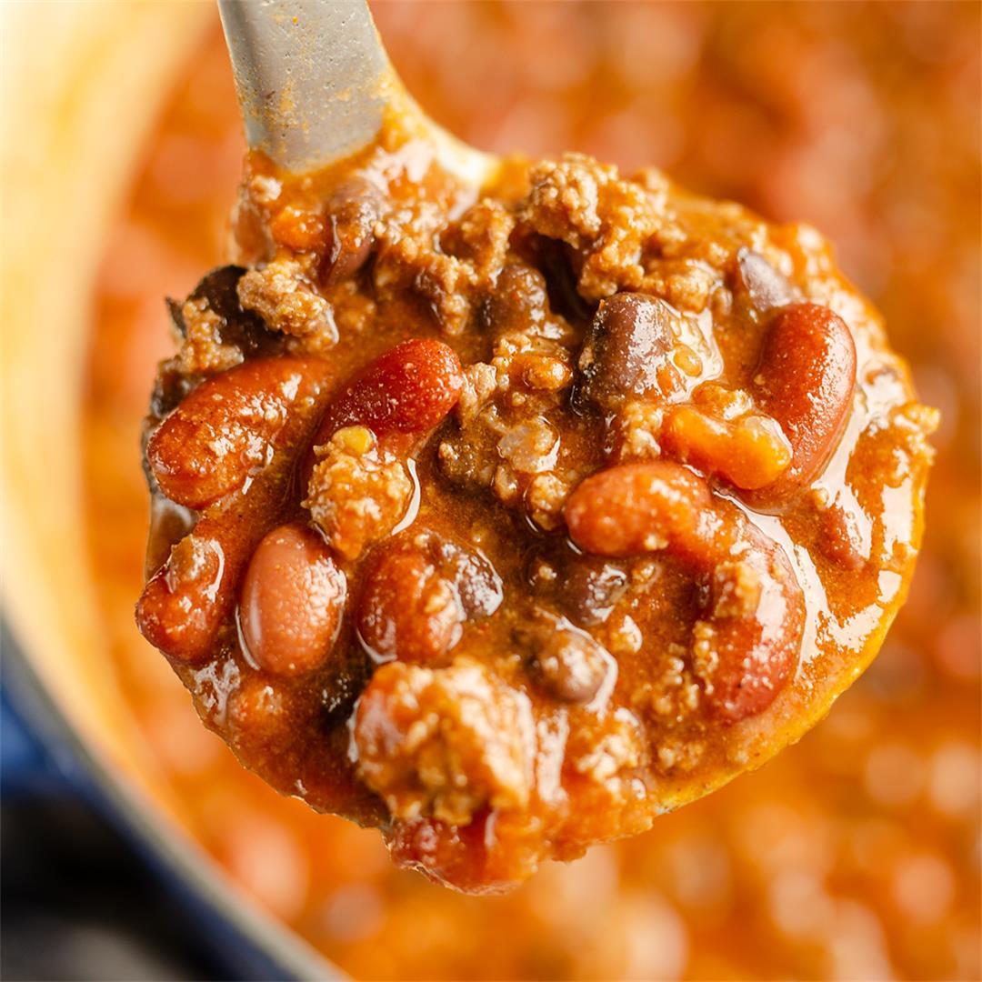 Bison Three Bean Chili