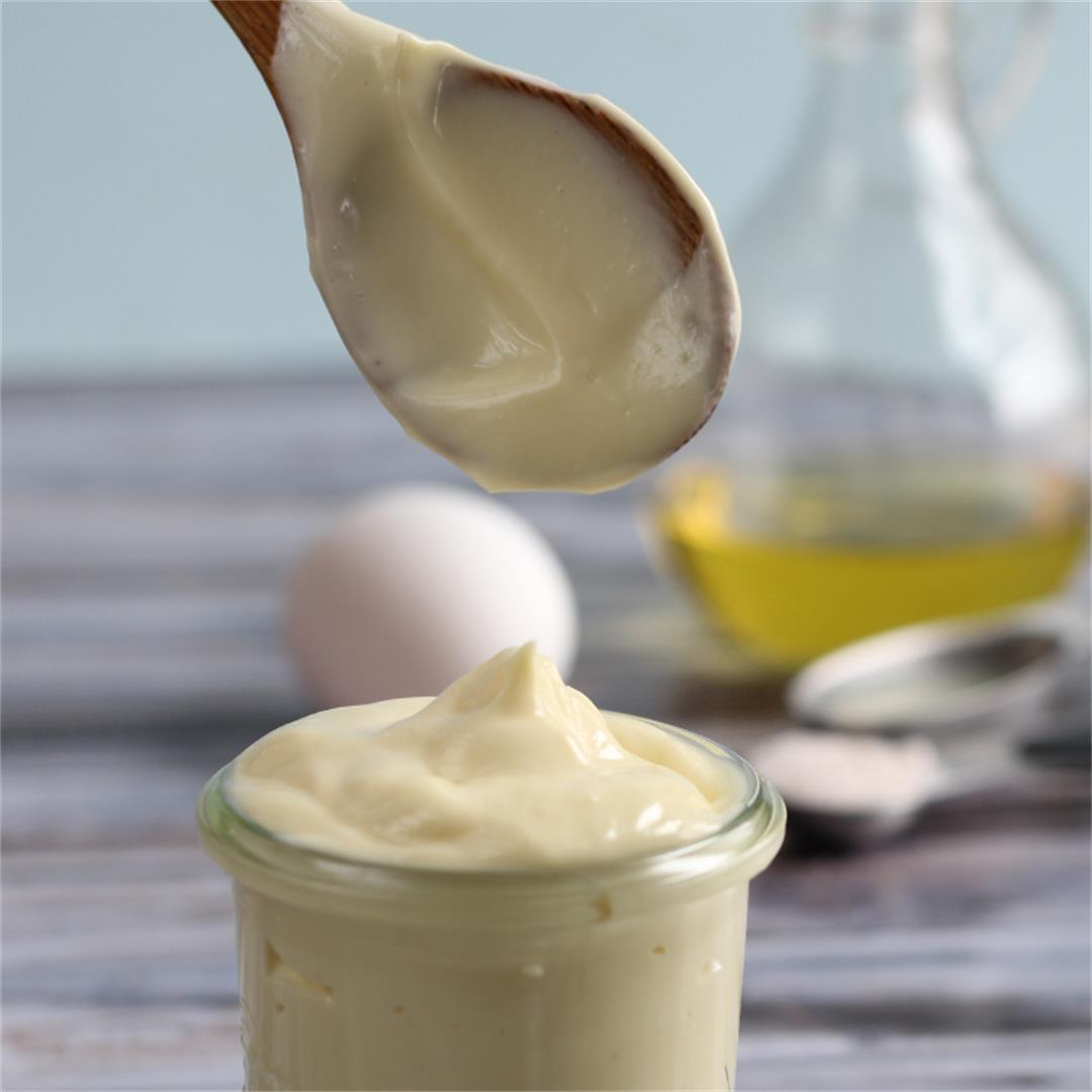 Healthy Easy Homemade Mayo