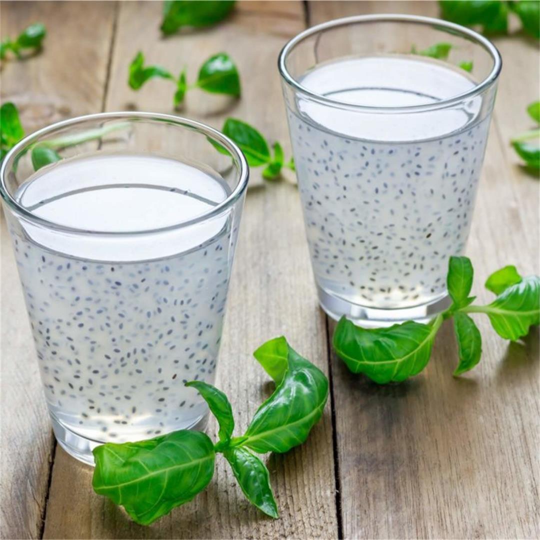 Lime Mint Mojito With Basil Seeds - Pristine Organics