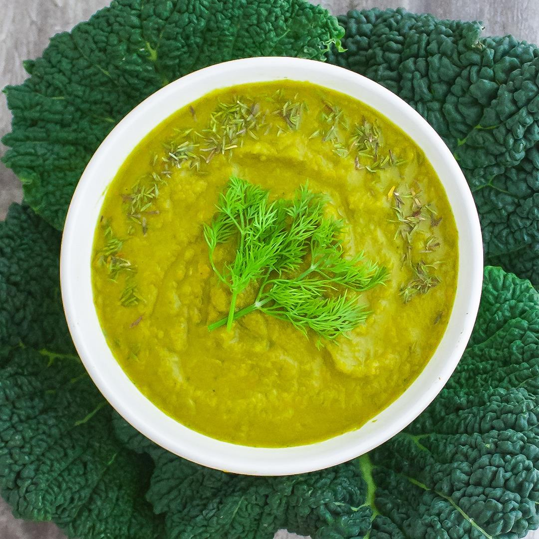 Detox and Alkalising Green Soup