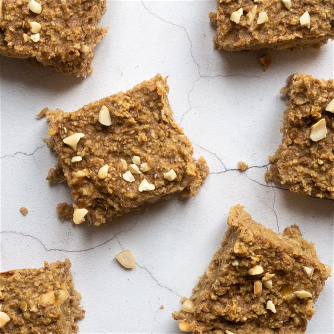 Peanut Butter Banana Breakfast Bar Recipe