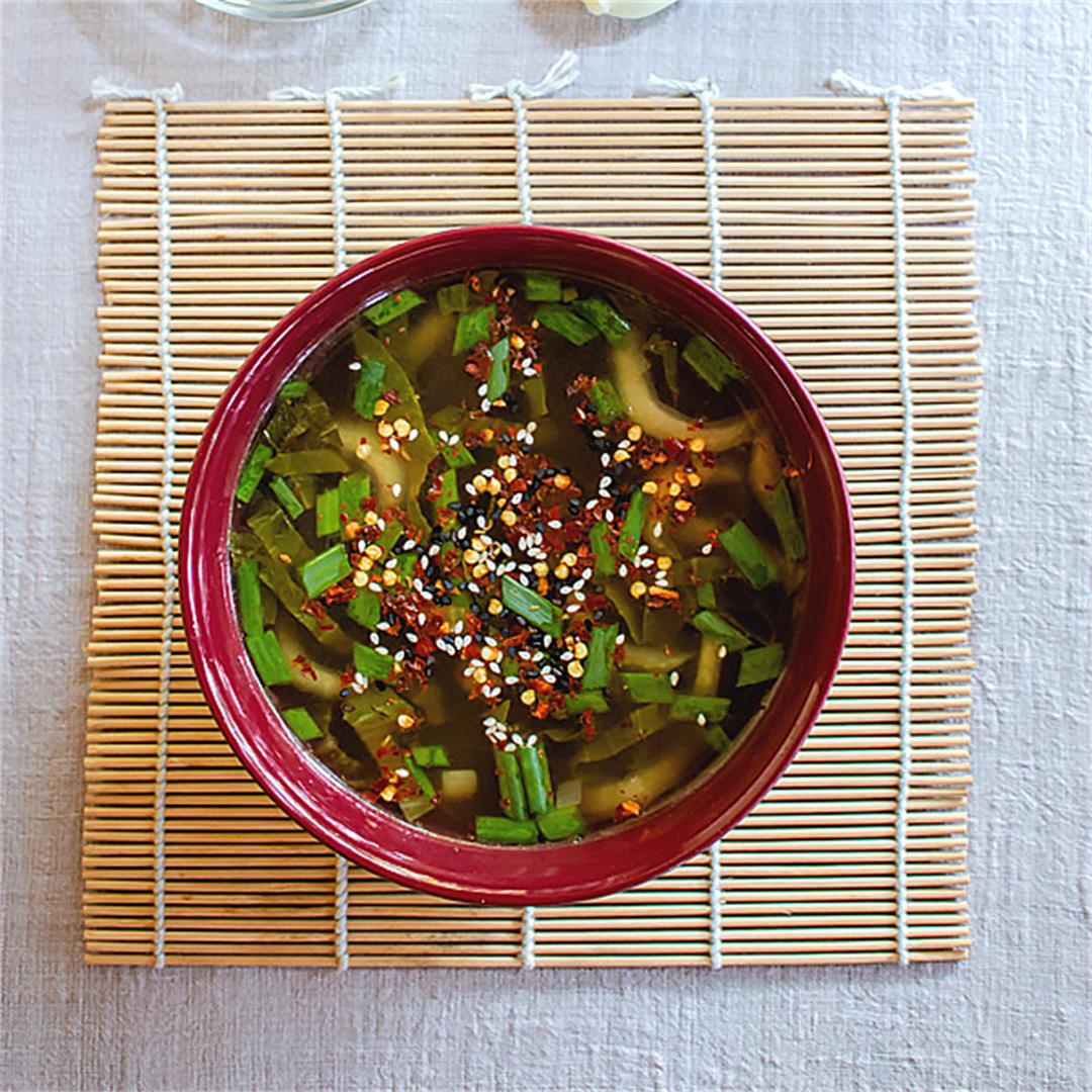 This is an easy one pot bok choy soup