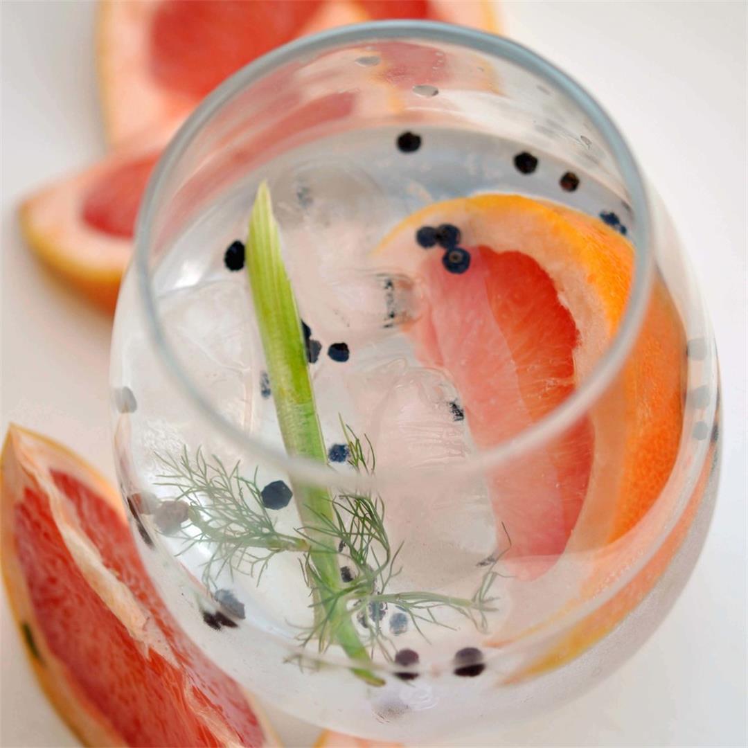 Fennel, Black Pepper, & Grapefruit G&T