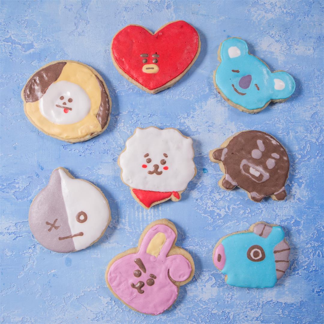 BTS BT21 Sugar Cookies