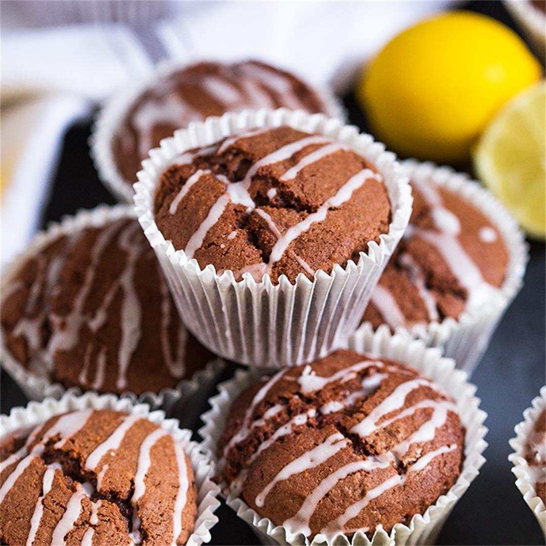 Chocolate Lemon Muffins