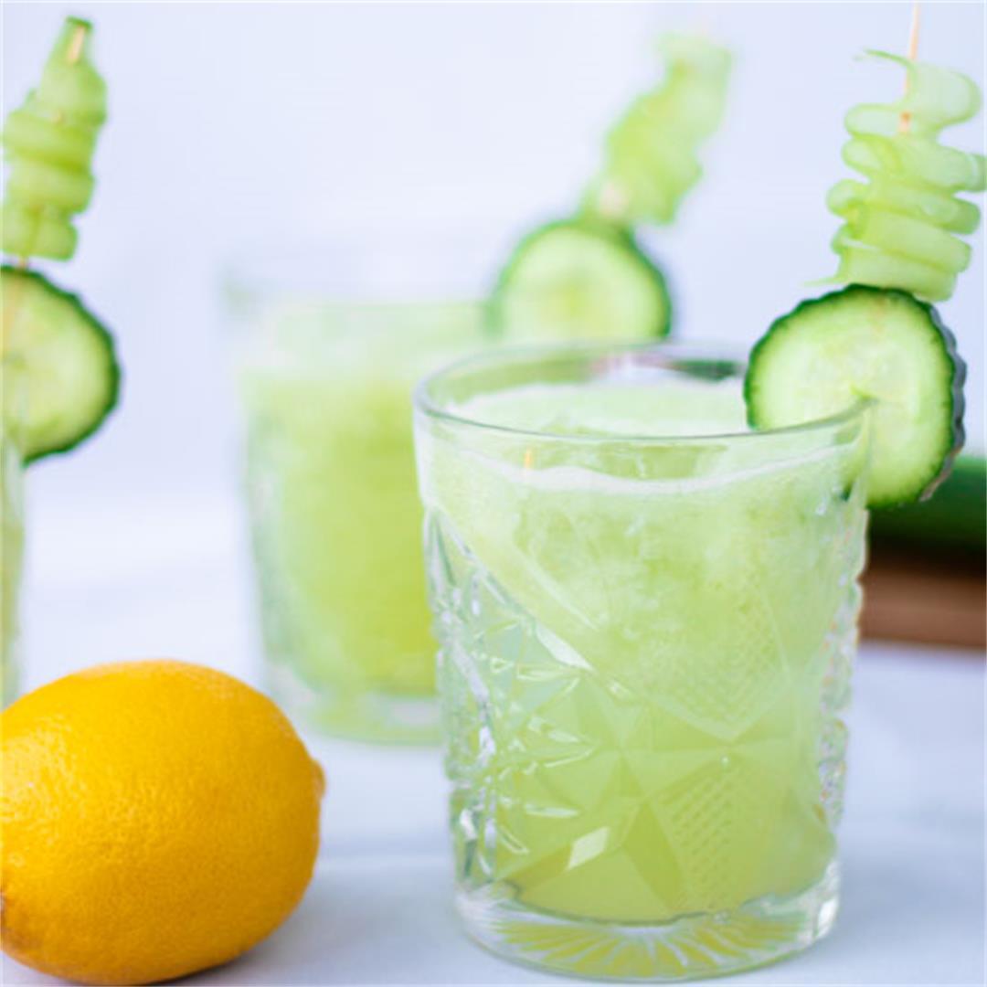 Clean Cucumber Collins (non-alcoholic)