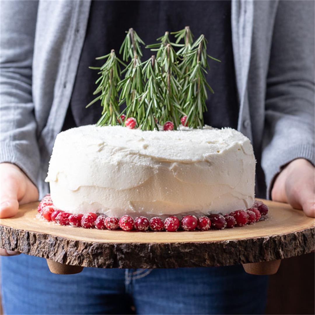 Winter Woodland Cake