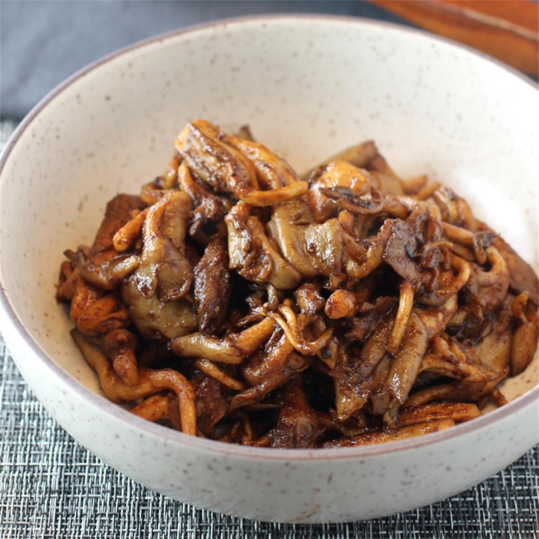 Seared Miso Mushrooms