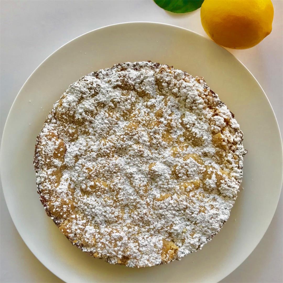 Belgian Lemon Tea Cake - Gluten Free