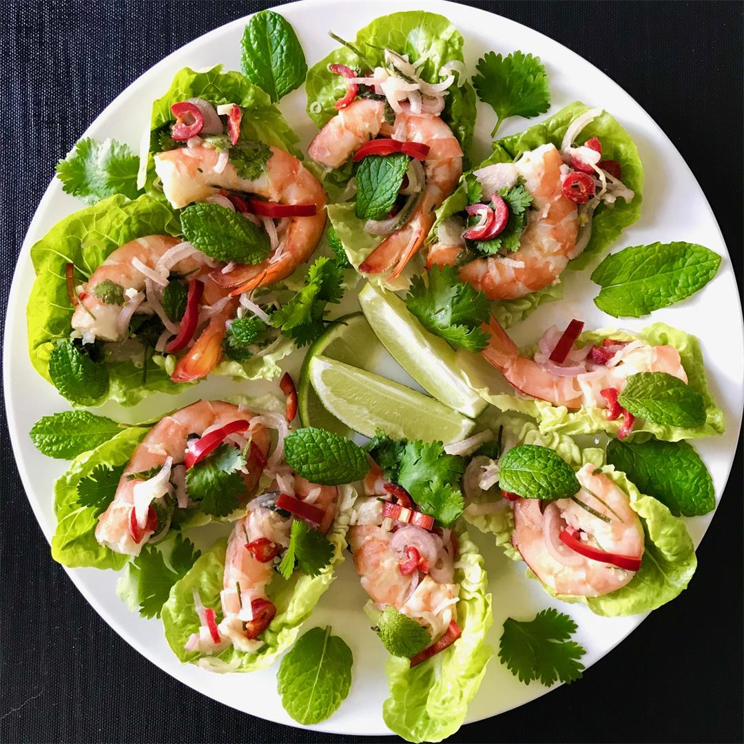 Thai Inspired Prawn Salad