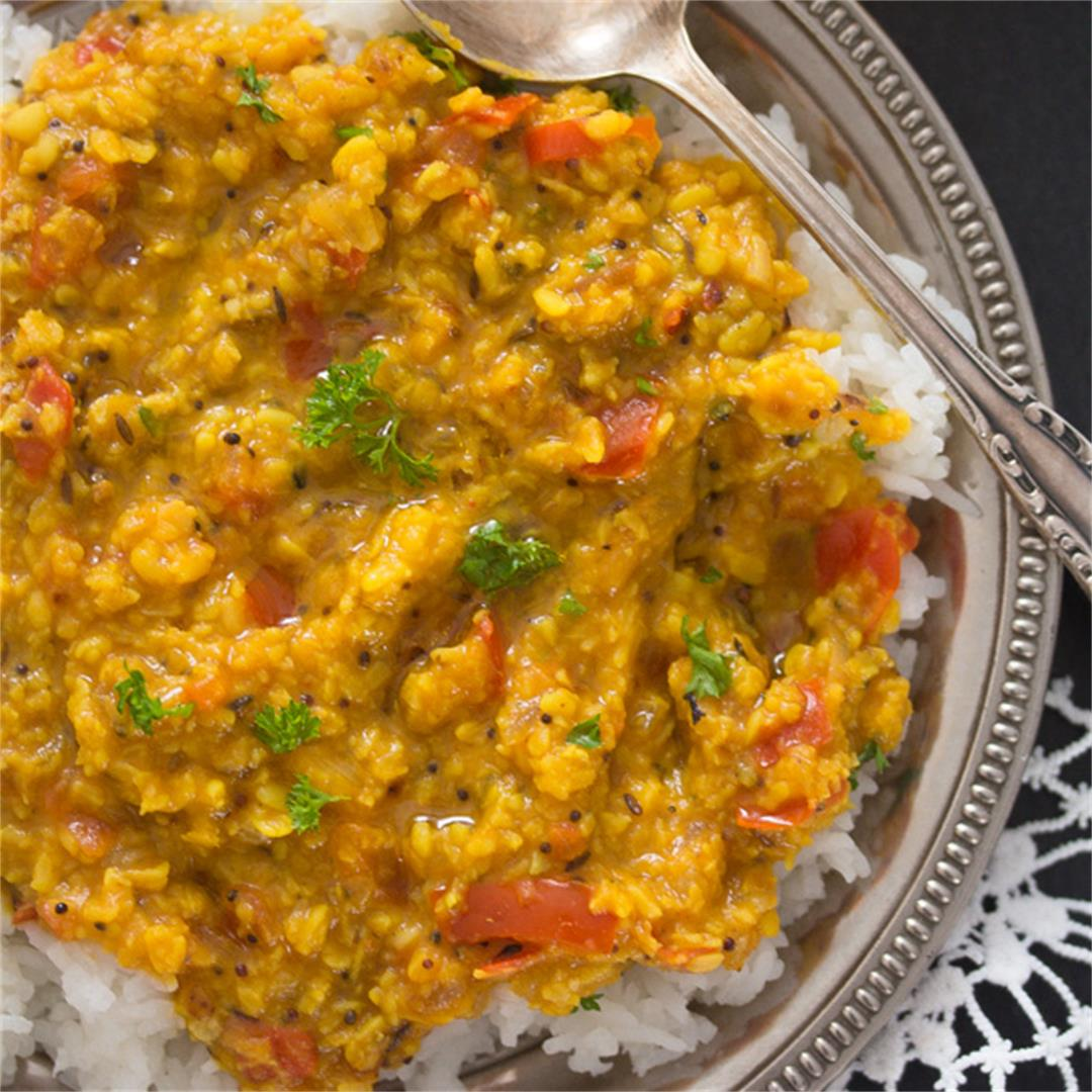 Moong Dal Tadka Recipe – Indian Lentil Dal