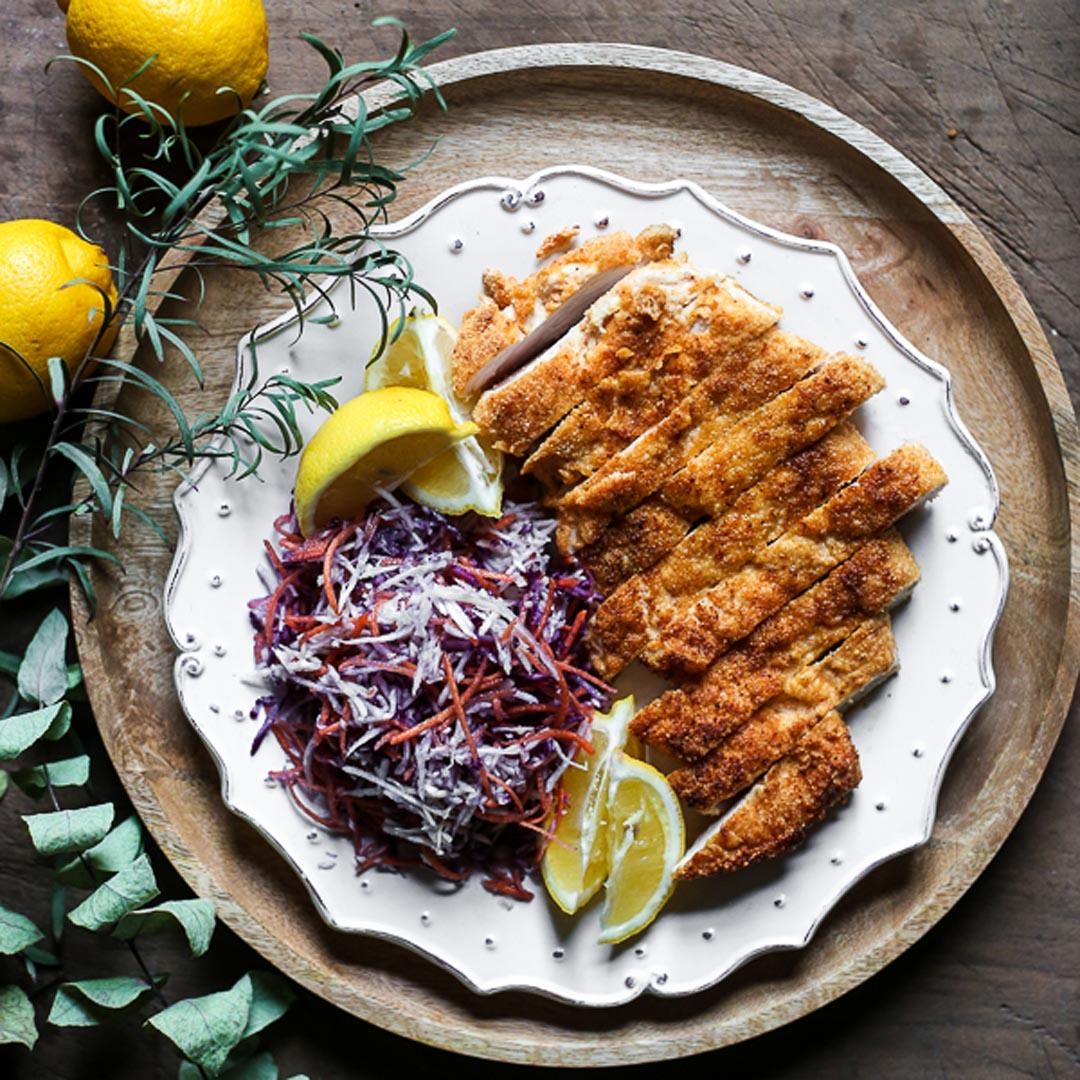 The Best Gluten-Free Chicken Schnitzel (whole30)