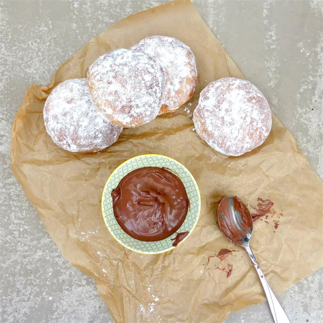 Actifry Nutella Doughnuts
