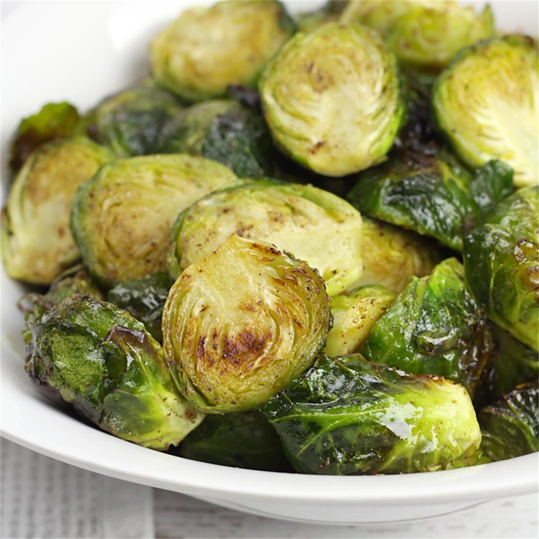 Browned Butter Roasted Brussels Sprouts