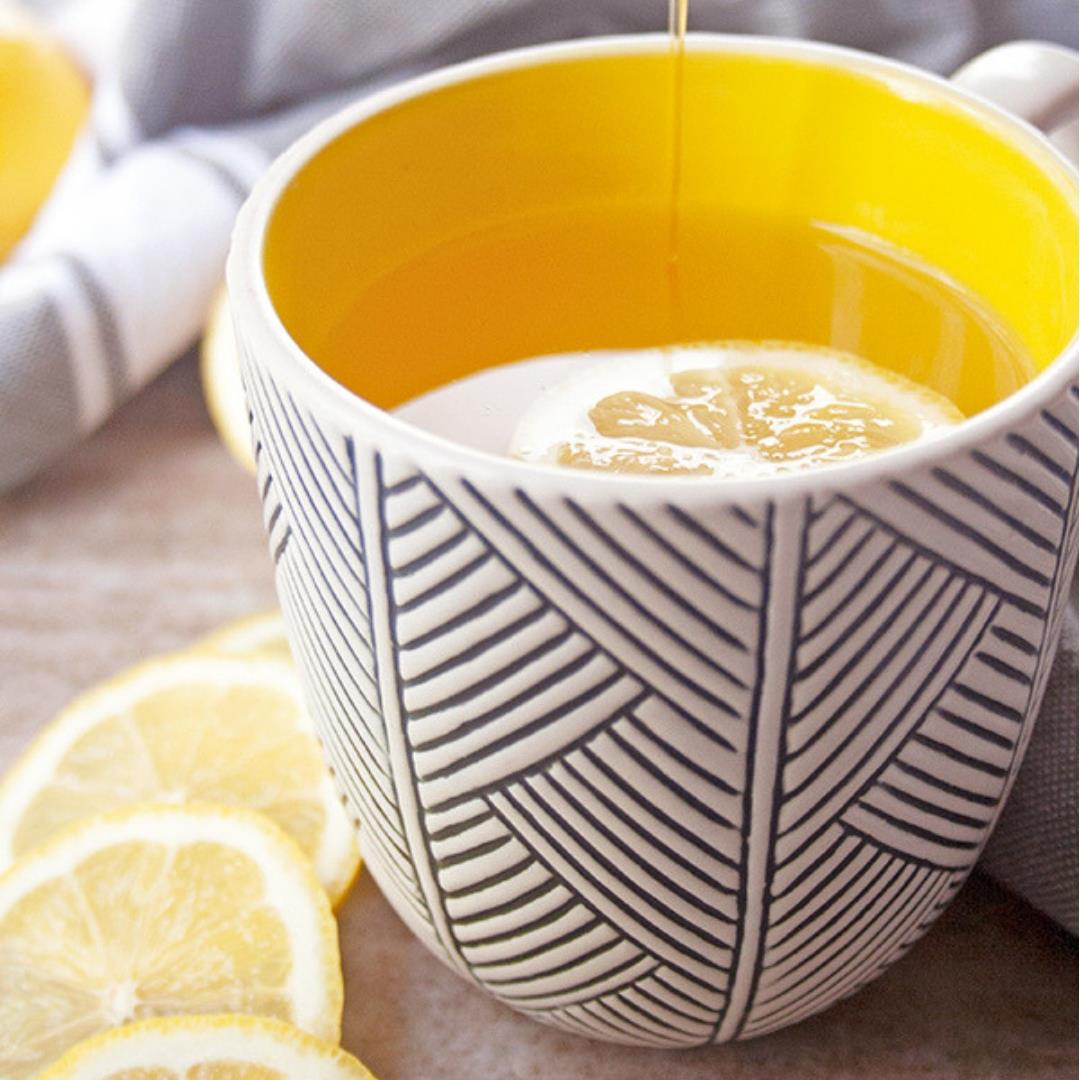 Soothing Ginger Lemon Tea with Honey