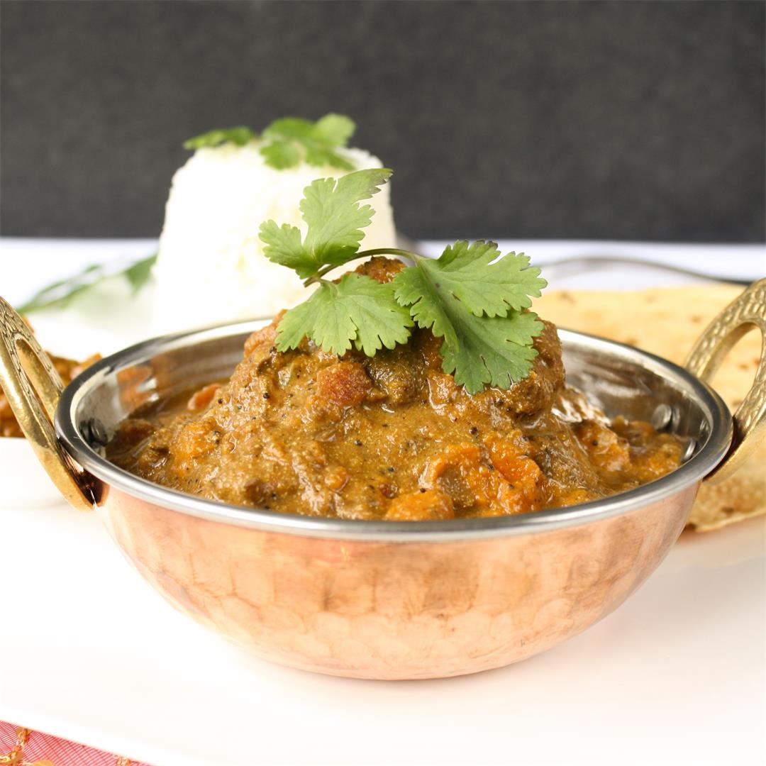 Slow cooker curry for lamb, beef or vegetables
