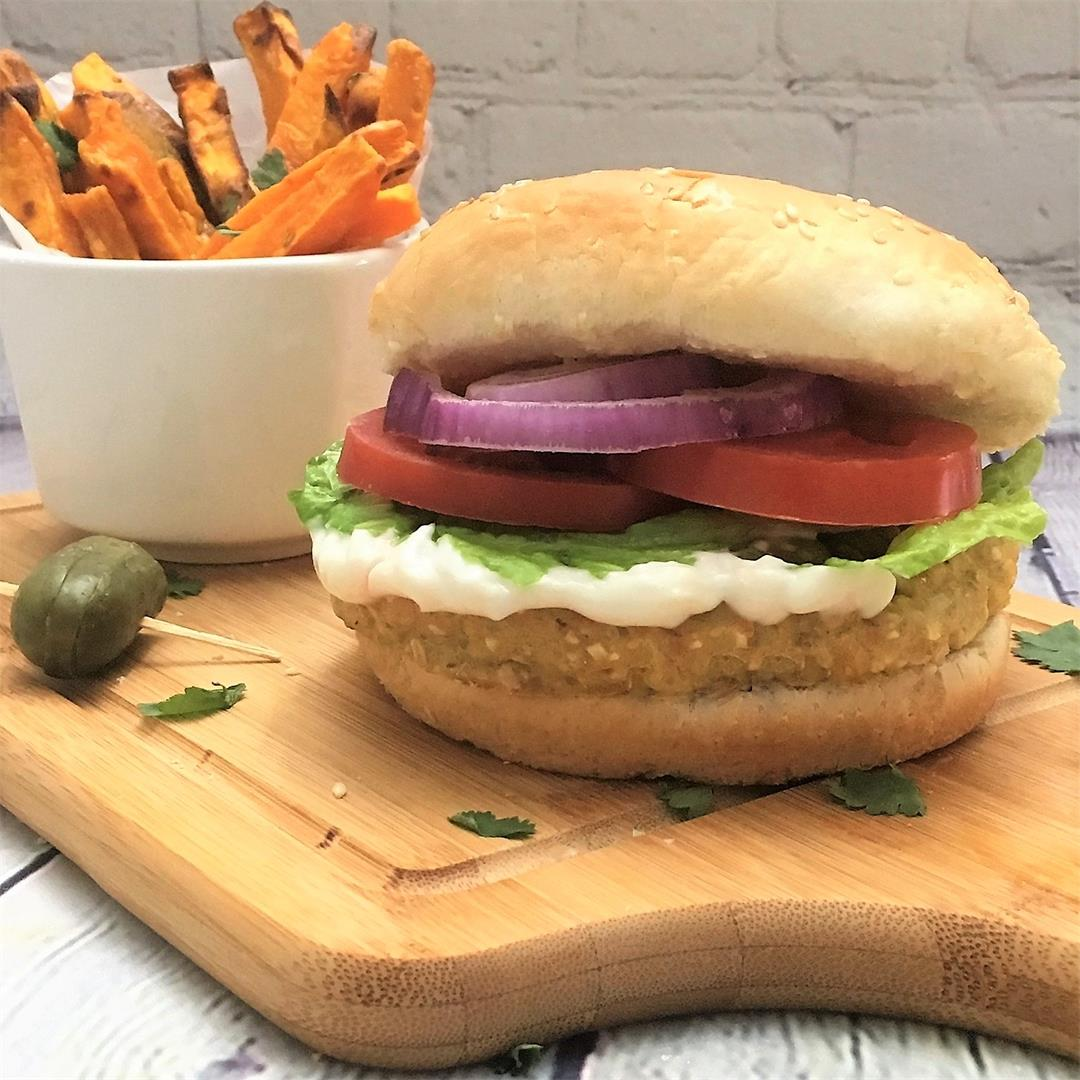 Vegan Chicken Burgers