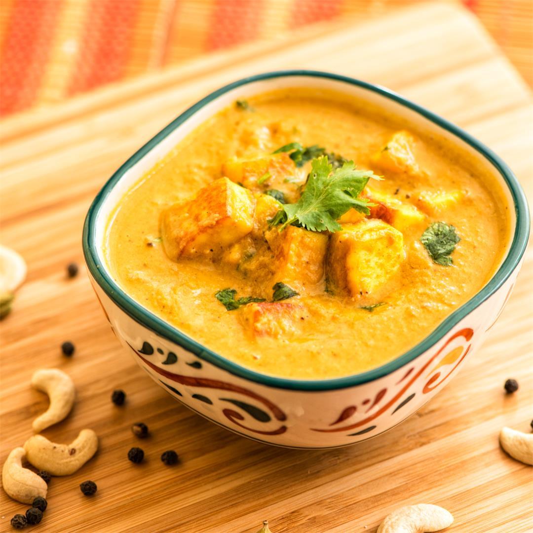 Paneer Korma, Creamy Paneer Korma recipe