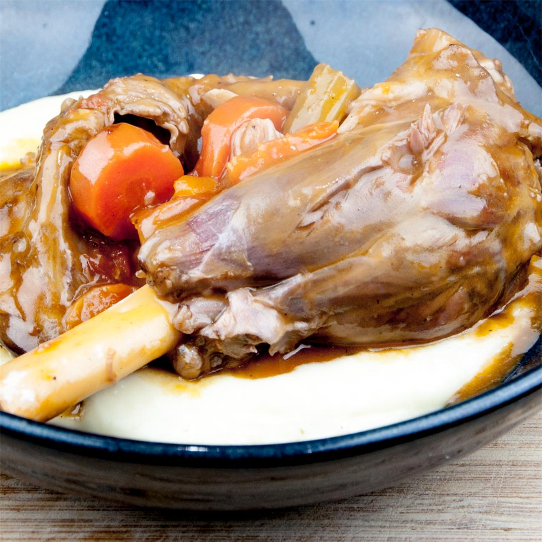 Pot Roasted Lamb Shank