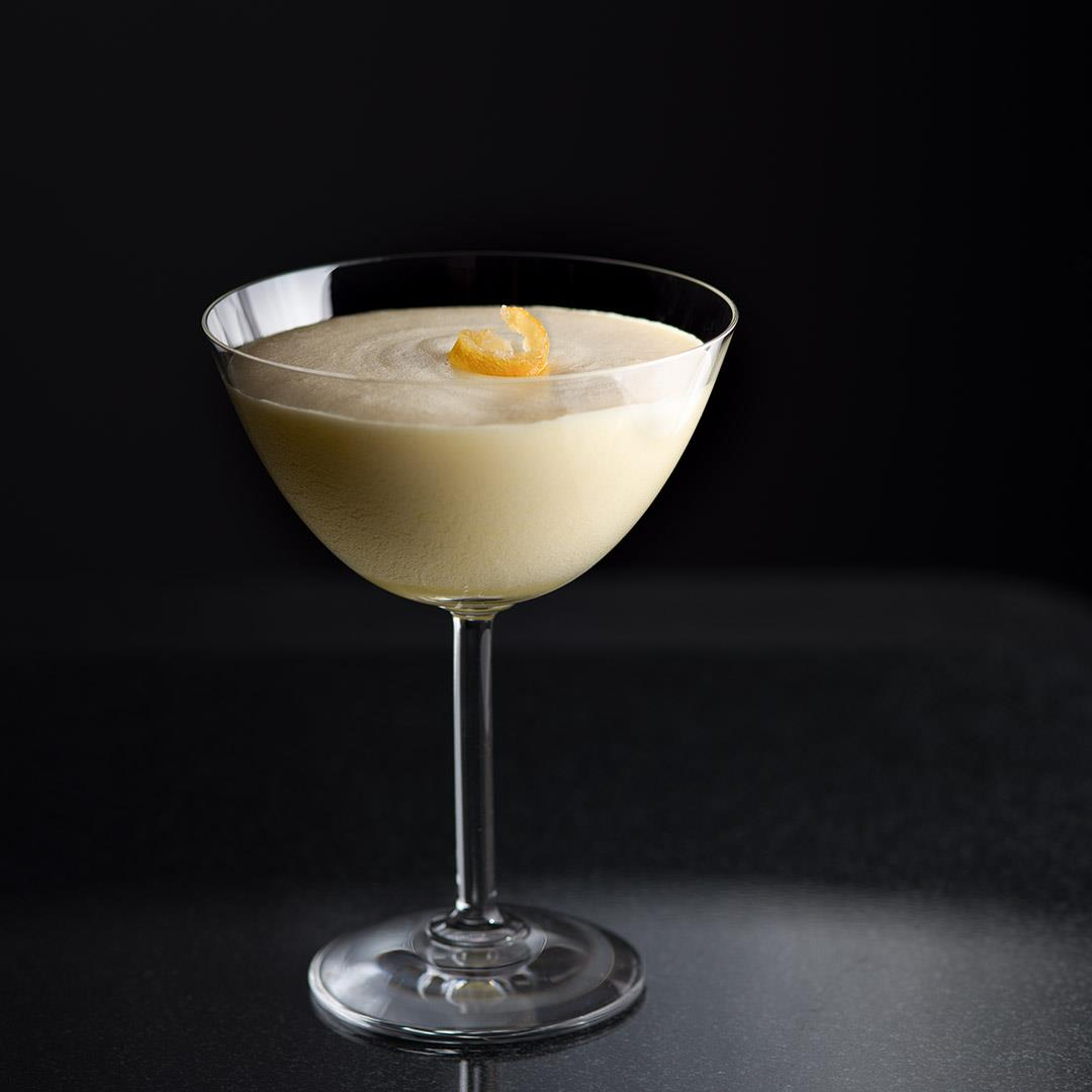 Lemon Ginger Mousse