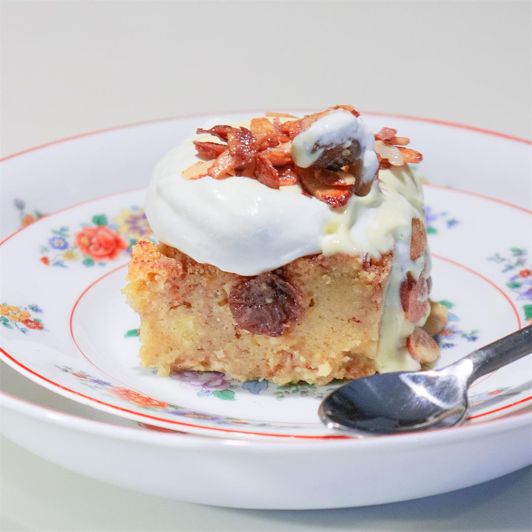 New Orleans Bread Pudding With Whiskey Sauce