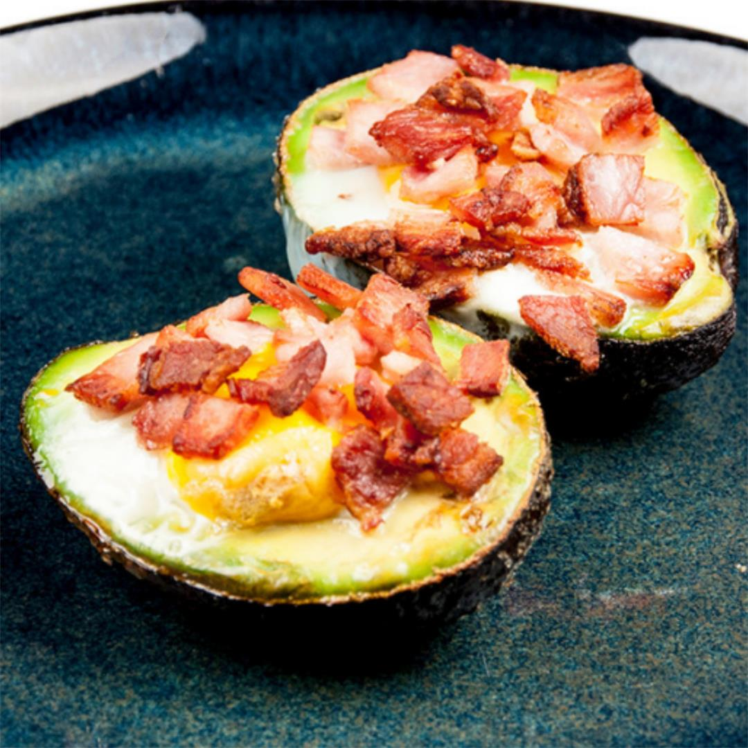 Avocado Breakfast Boats