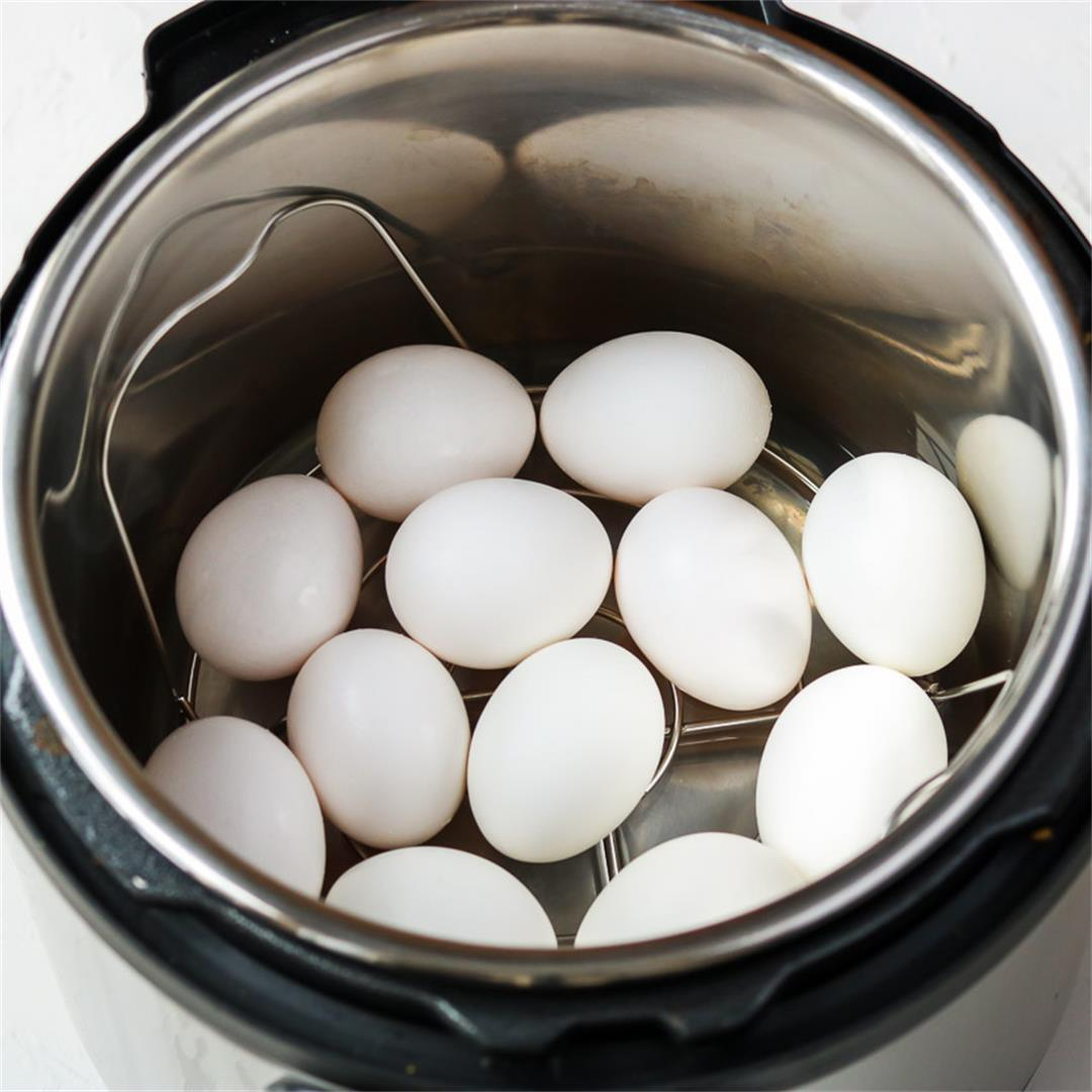 Instant Pot Hard Boiled Eggs with Easy to Peel Shells