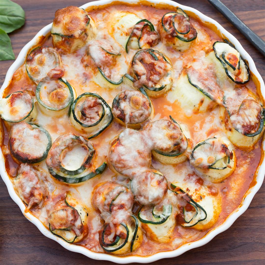 Zucchini Roll-Ups Recipe
