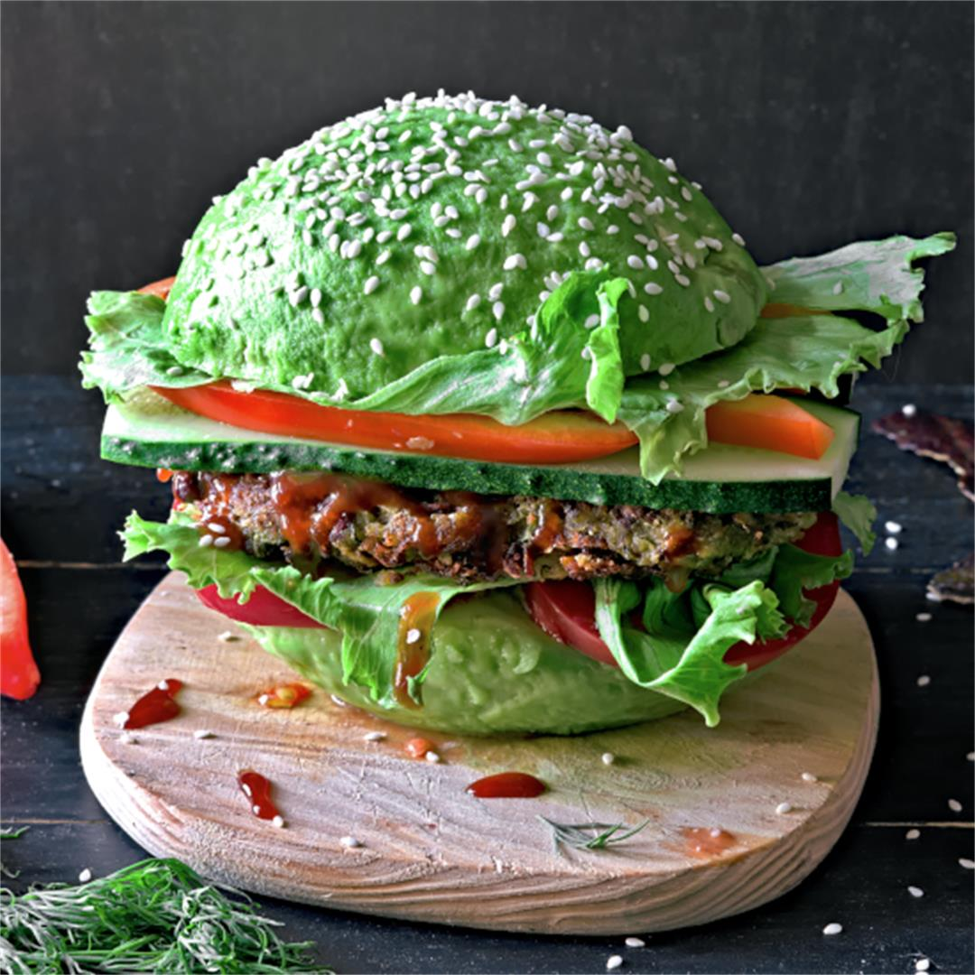 Avocado Burger – Vegan Burger Recipe