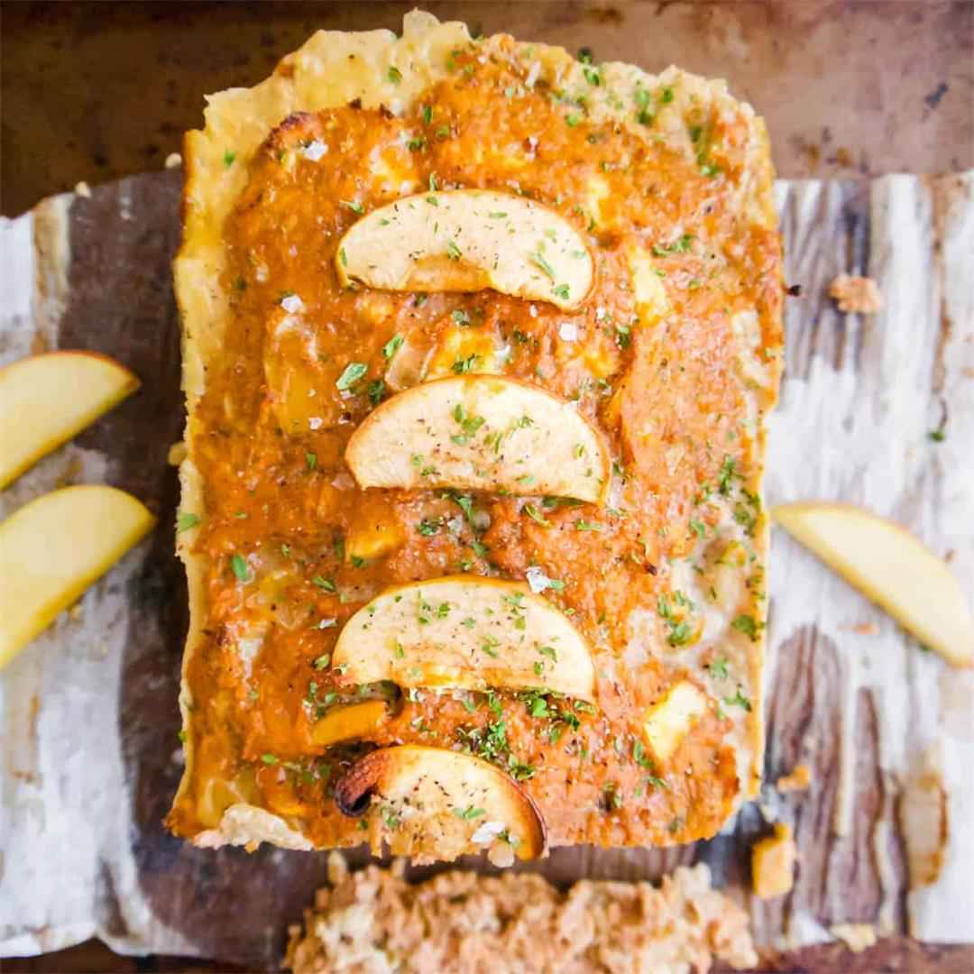Apple And Sage Turkey Meatloaf (Paleo, Whole30)