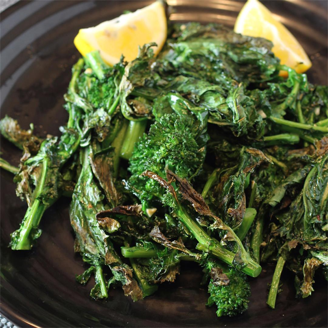 Broiled Broccoli Rabe
